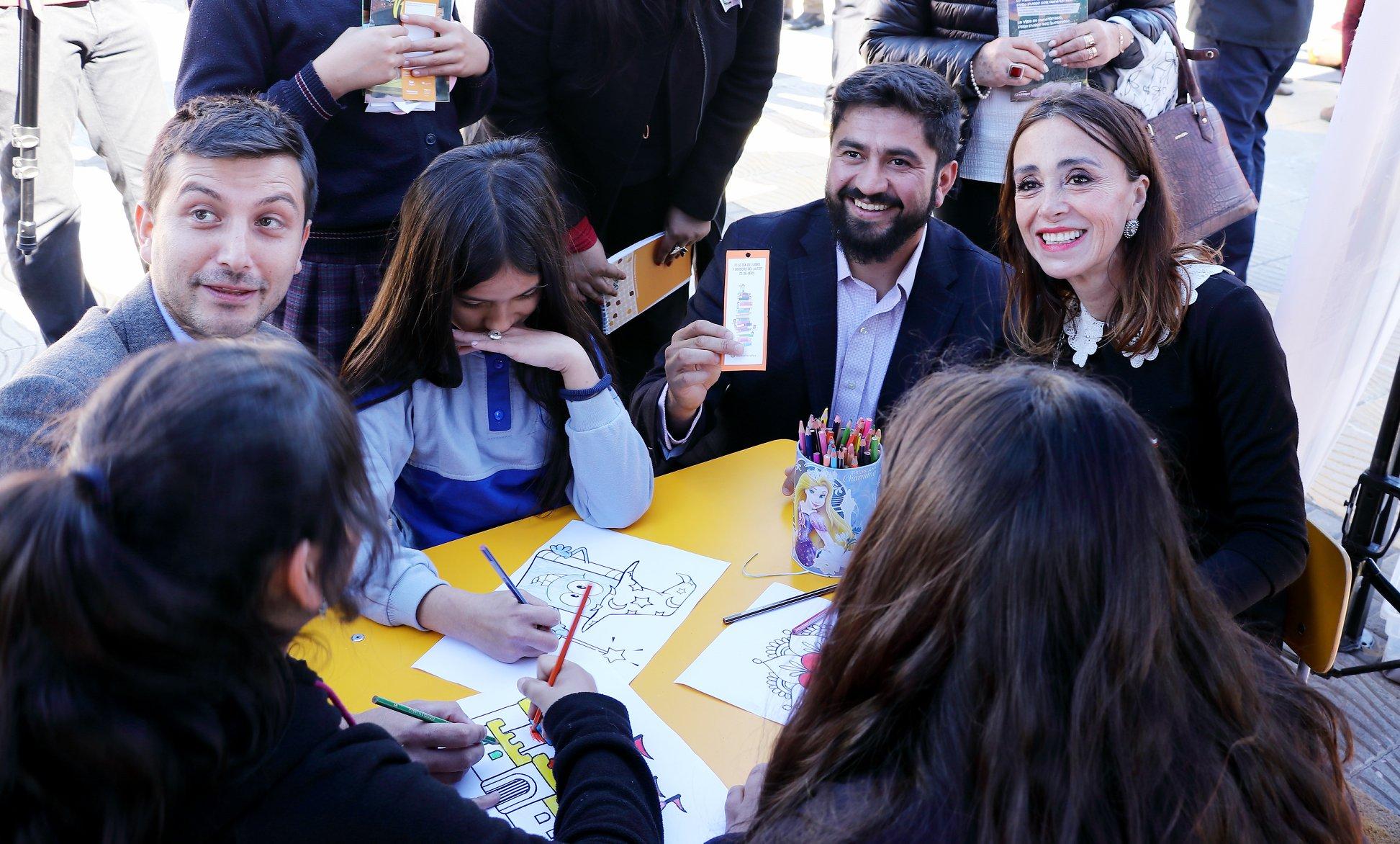 En Talcahuano se concentró la celebración del Día Internacional del Libro