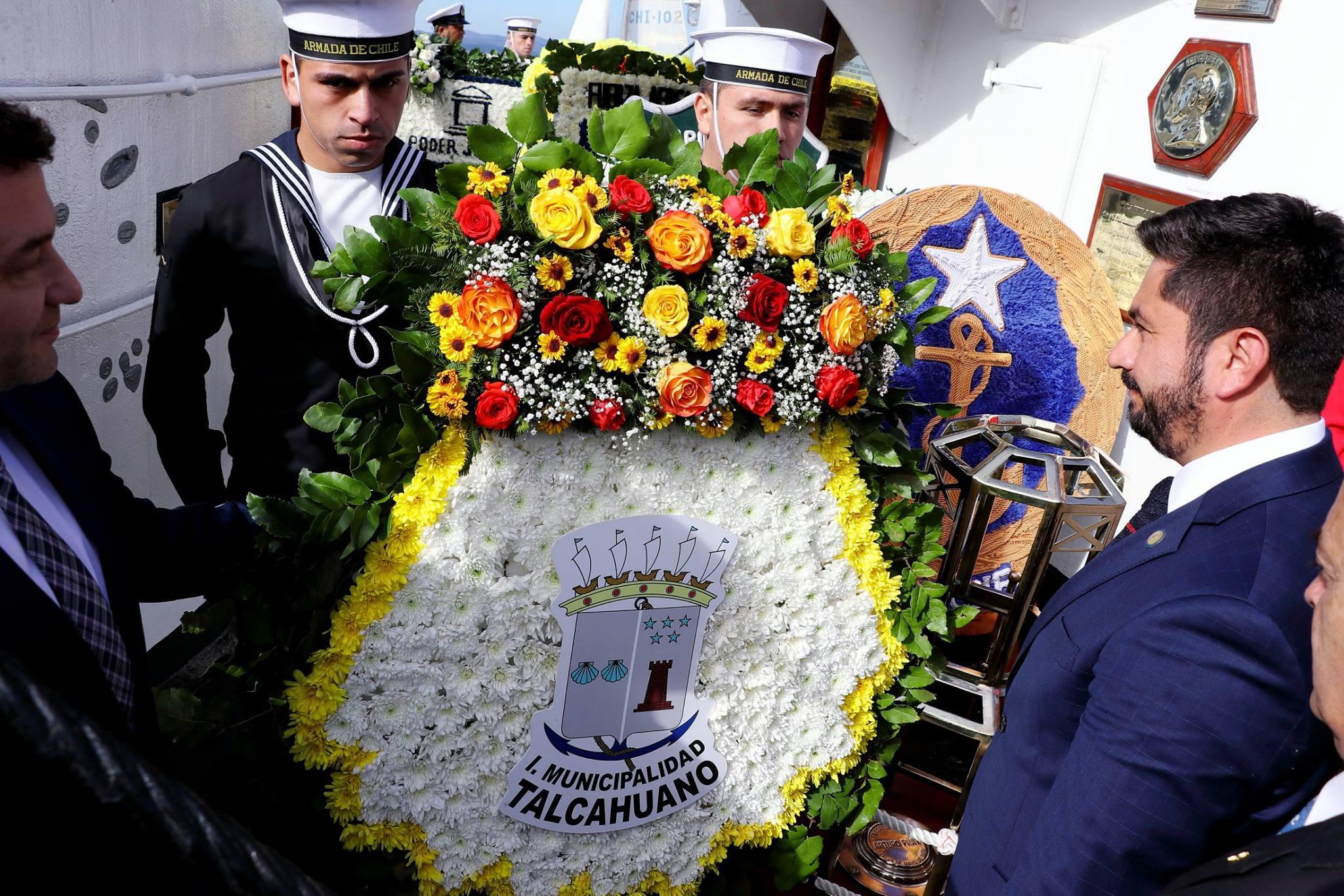 Destacan el inmortal ejemplo de Prat y sus hombres durante conmemoración de la gesta de Iquique