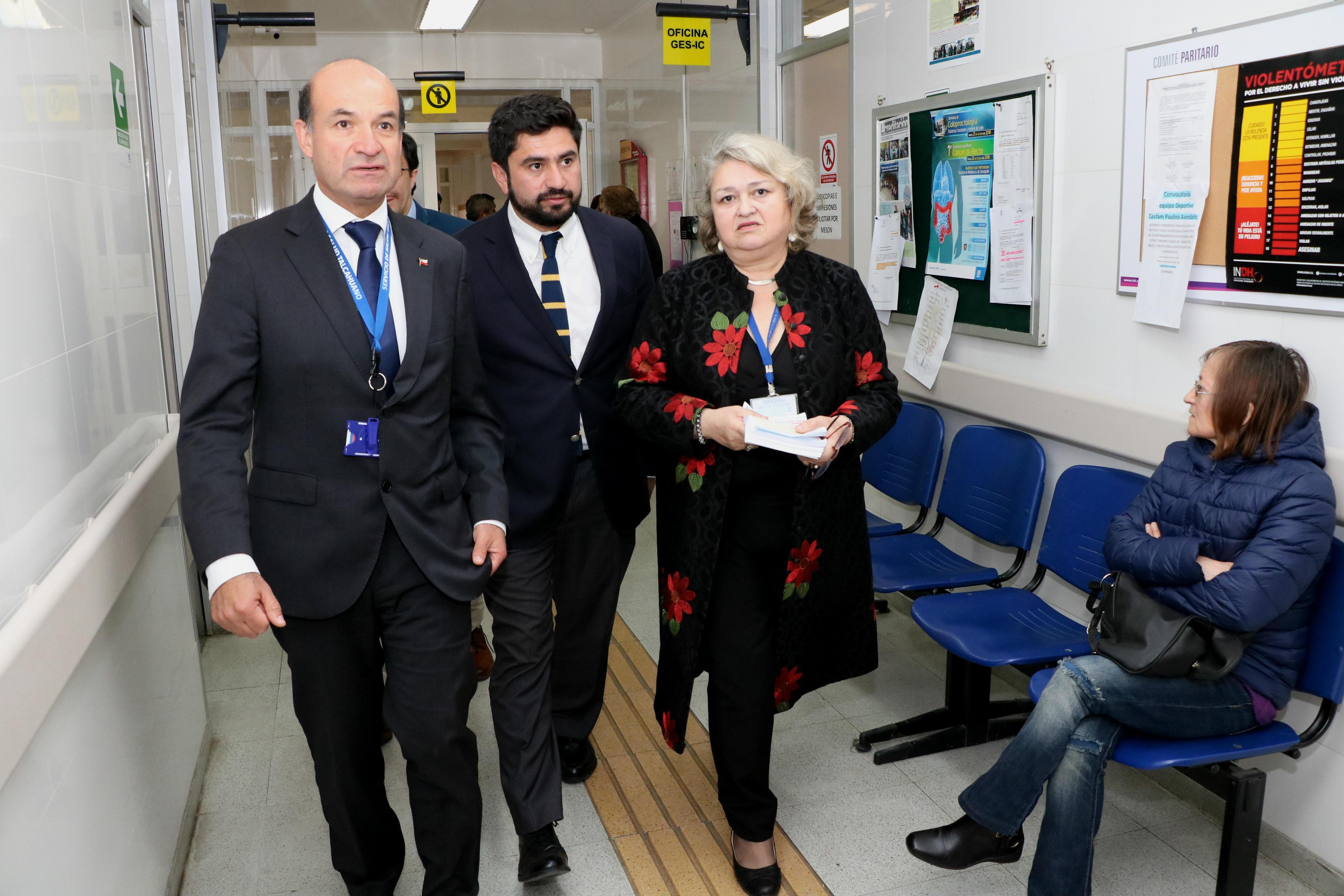 Extensión horario en Cesfam Paulina Avendaño de Talcahuano permitirá sumar 500 nuevas consultas médicas al mes