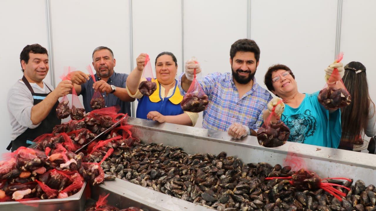 Talcahuano celebra primera Fiesta de la Cholga