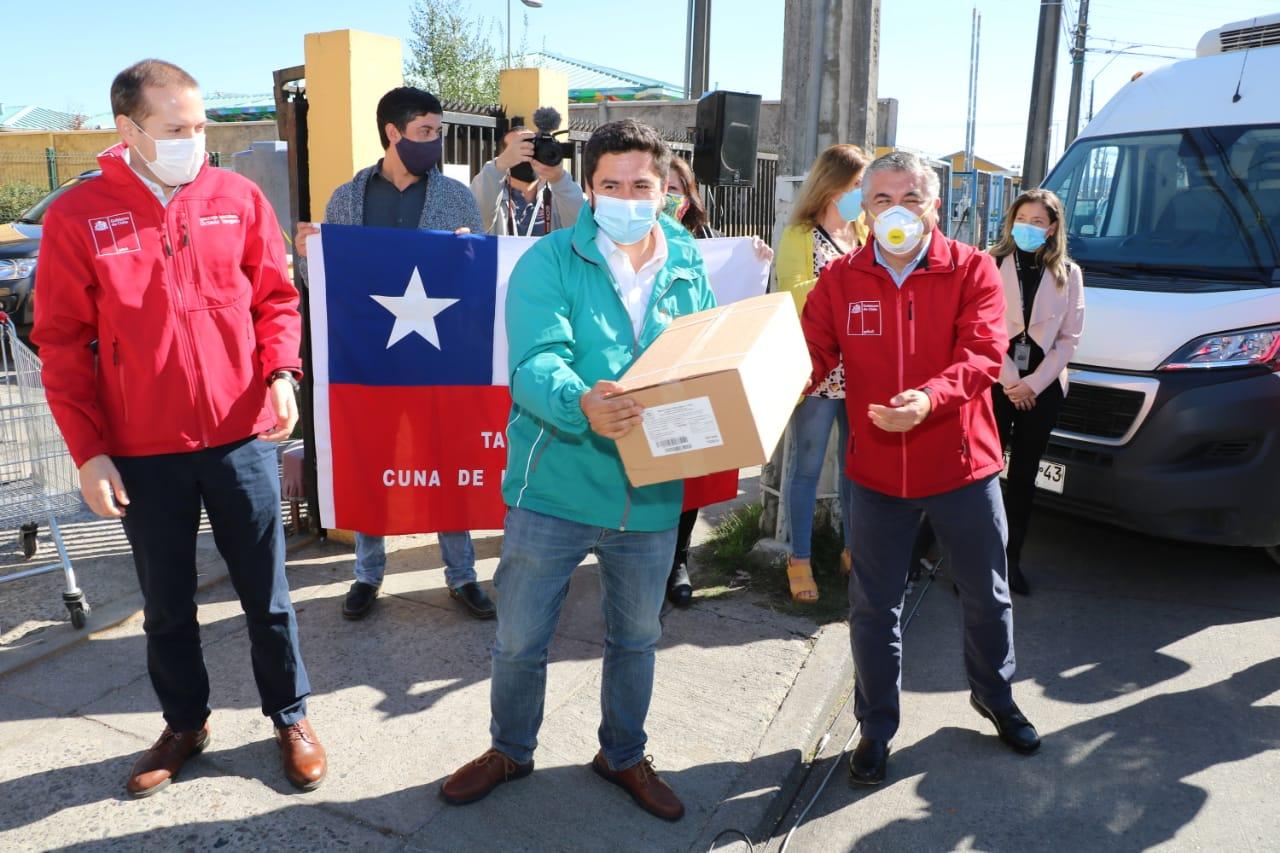 Banco de Alimentos del Mar inició su proceso de abastecimiento en Talcahuano y se extenderá a toda la Región
