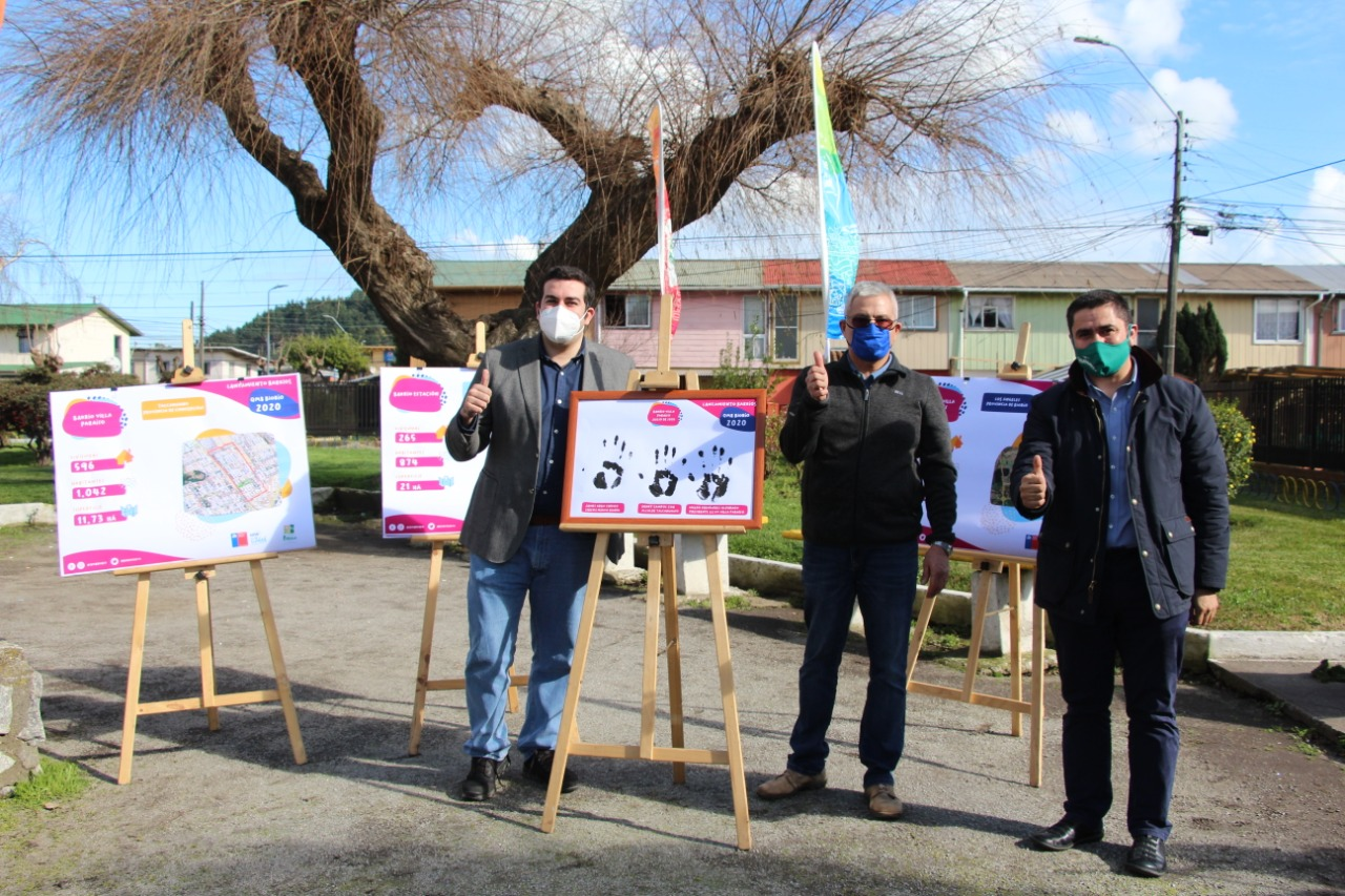 Talcahuano se adjudicó dos nuevos proyectos de mejoramiento de barrios