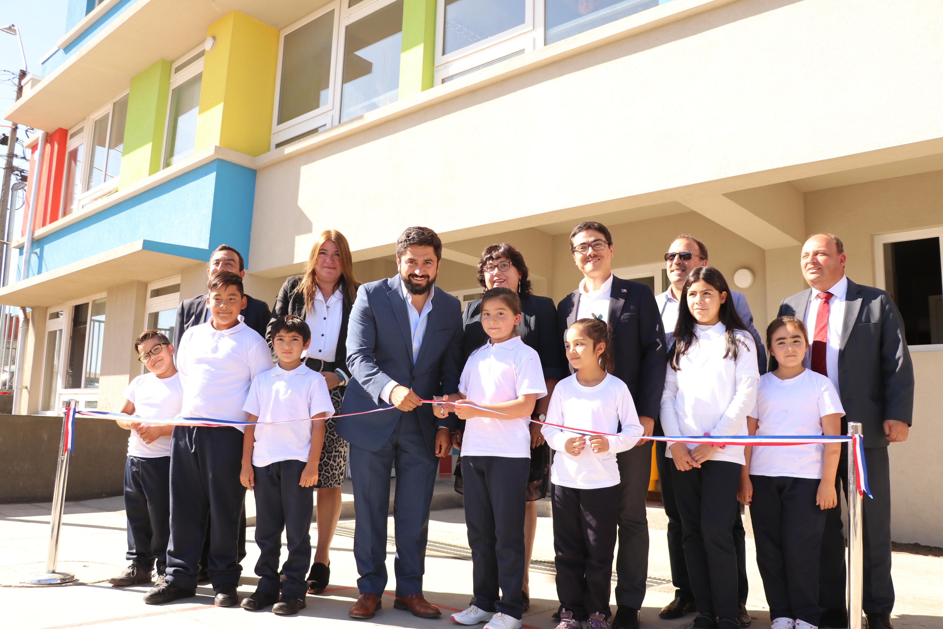 Talcahuano inaugura Colegio Buena Vista Zaror y da inicio al nuevo año escolar