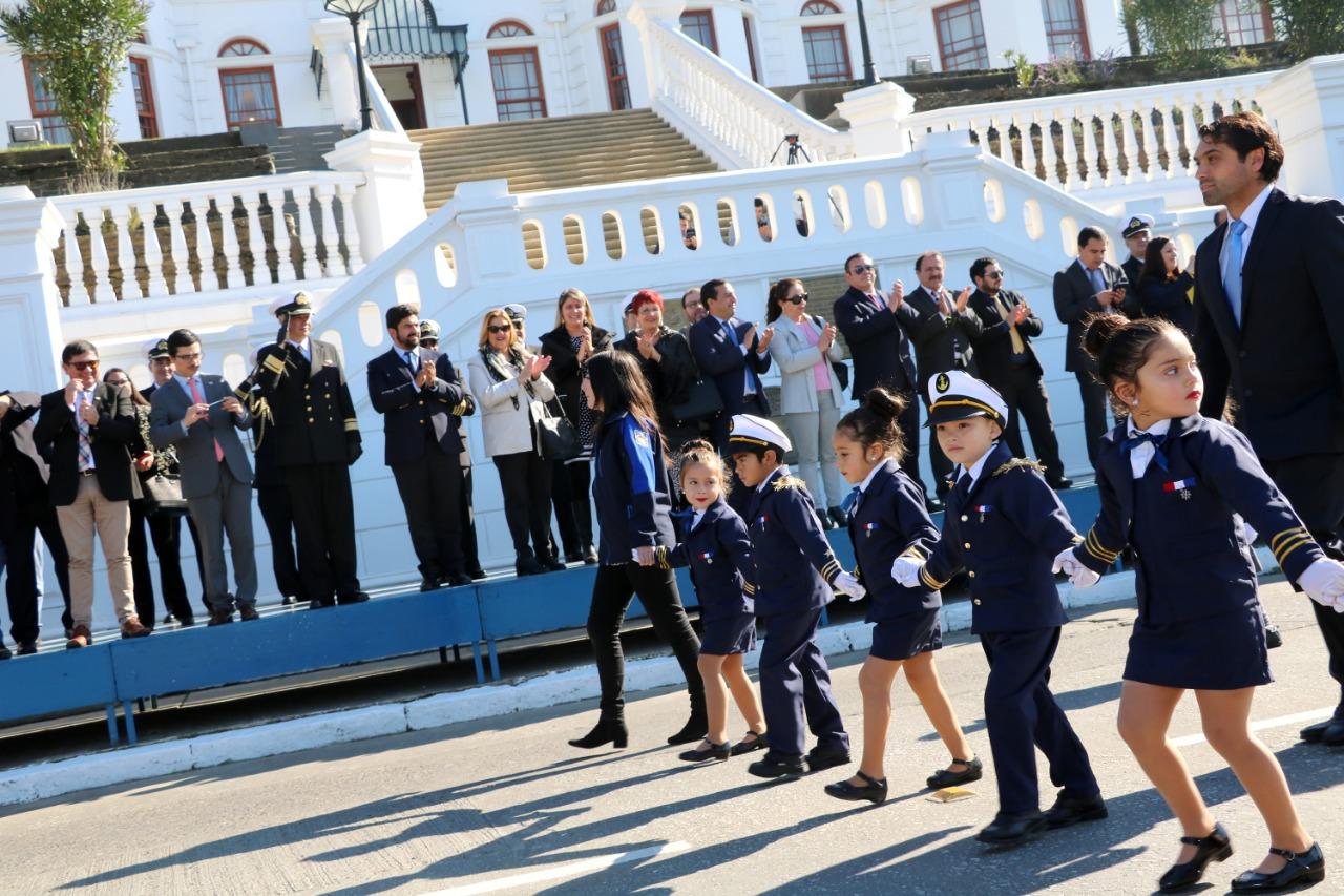 Mes del Mar: Cerca de 3 mil estudiantes de la Provincia rindieron homenaje a las Glorias Navales