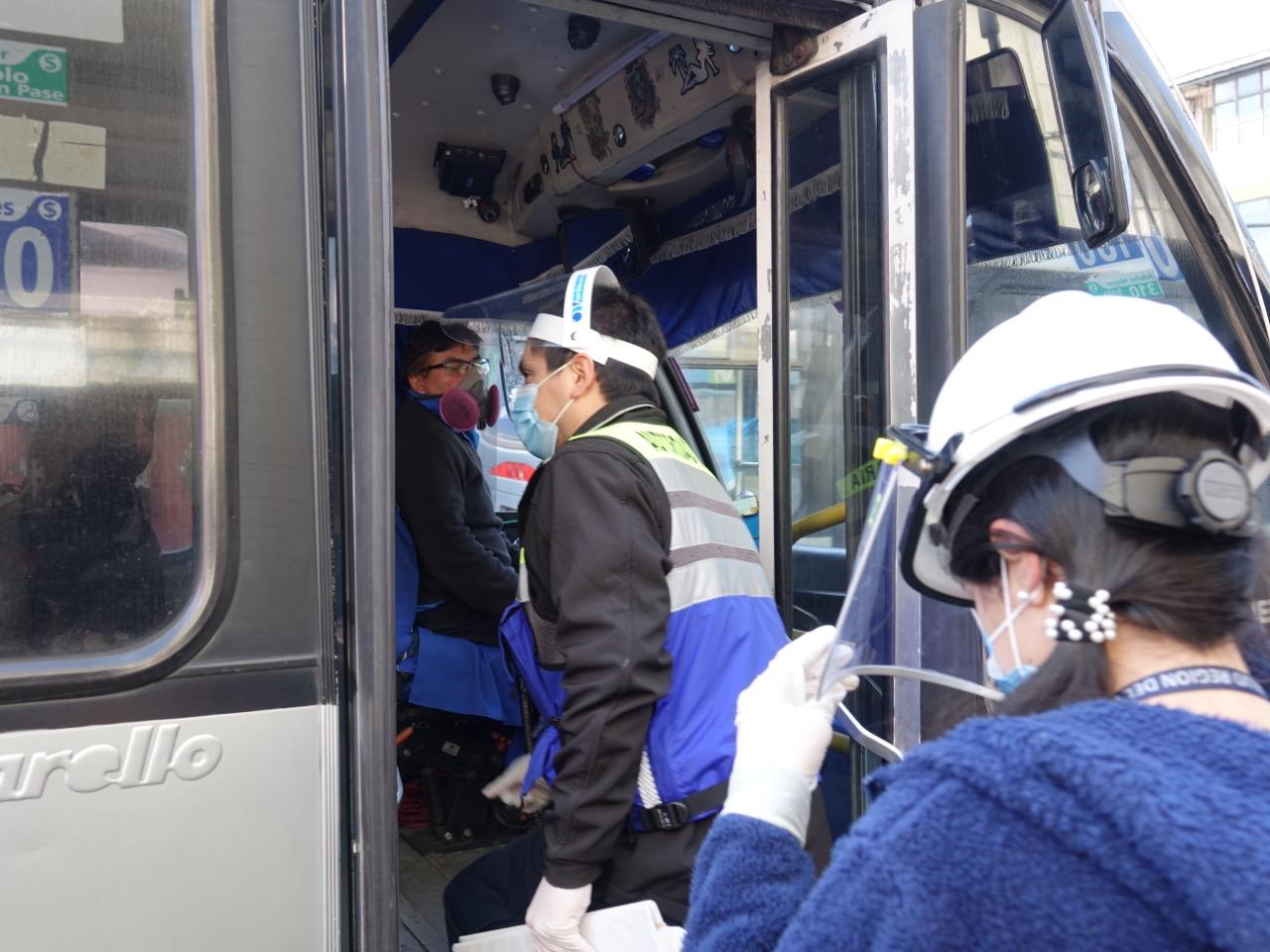 Realizan amplio operativo en el centro de Talcahuano para verificar cumplimiento de medidas contra el Covid 19