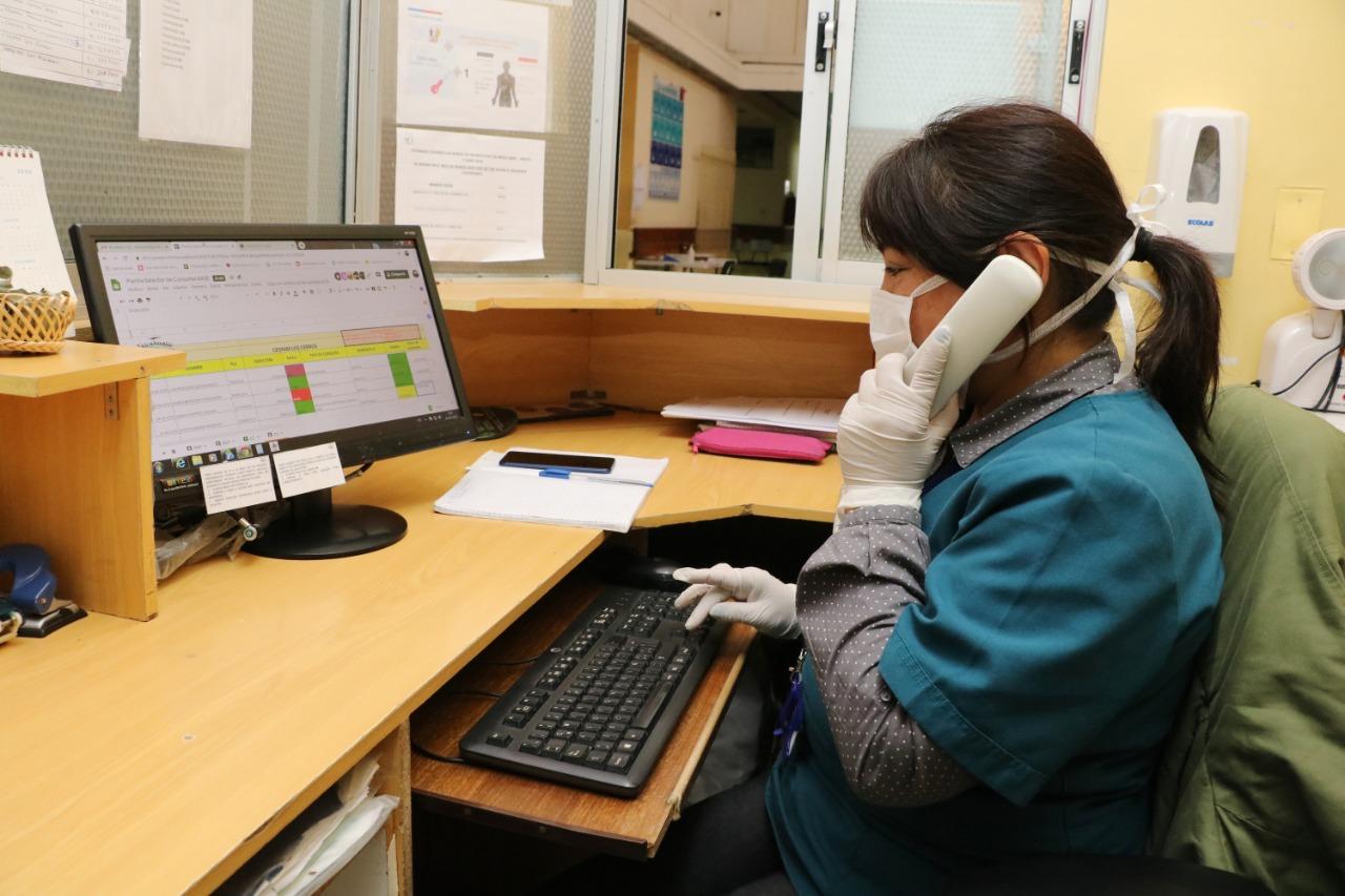 Talcahuano supera las 1.100 teleconsultas de salud en los primeros días de funcionamiento