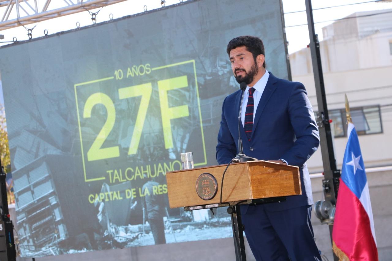 Talcahuano conmemoró diez años del terremoto y emerge como la capital de la resiliencia en Chile