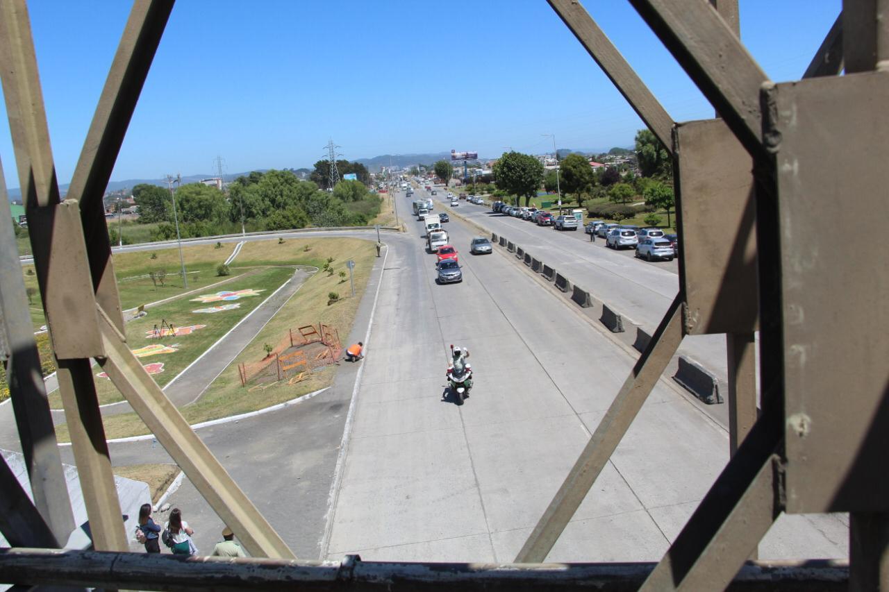 Tras 21 días: habilitan tránsito en puente Perales y Autopista