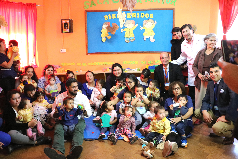 Talcahuano lidera vacunación contra la influenza en el país con el 32% de la población inoculada