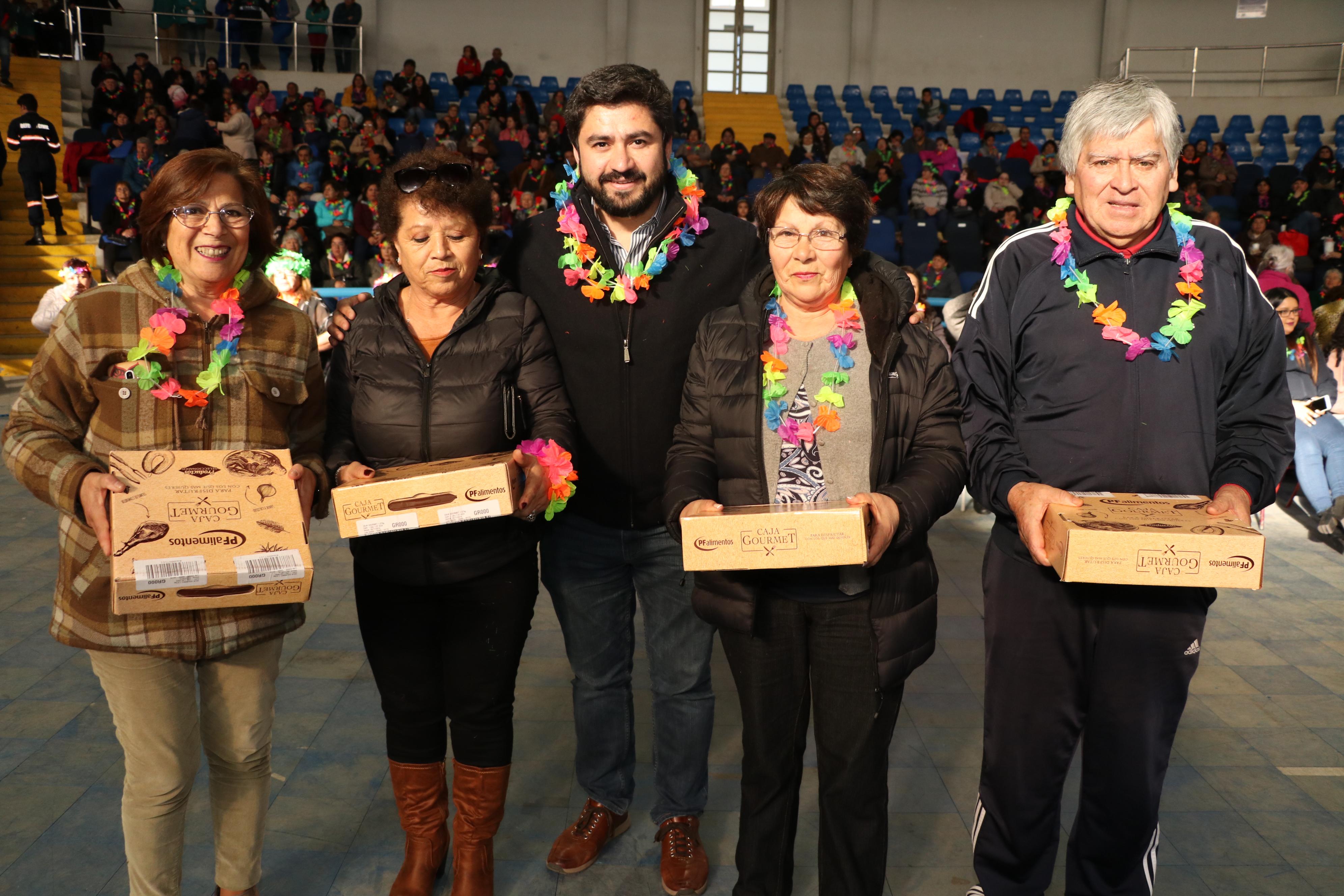 Adultos Mayores de Talcahuano le dan la bienvenida a la primavera