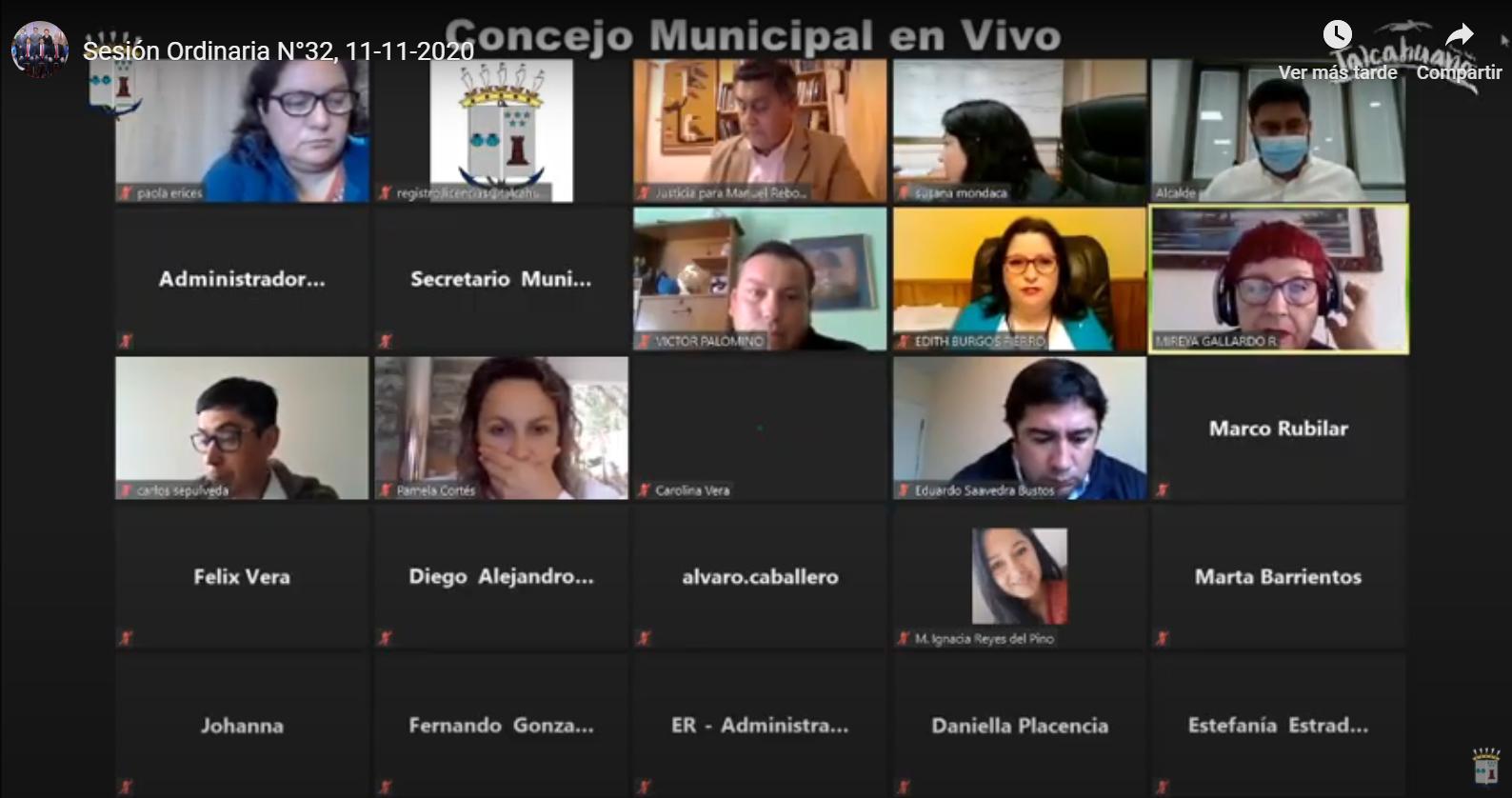 Concejo Municipal aprueba ordenanza que regula comercio ambulante en Talcahuano