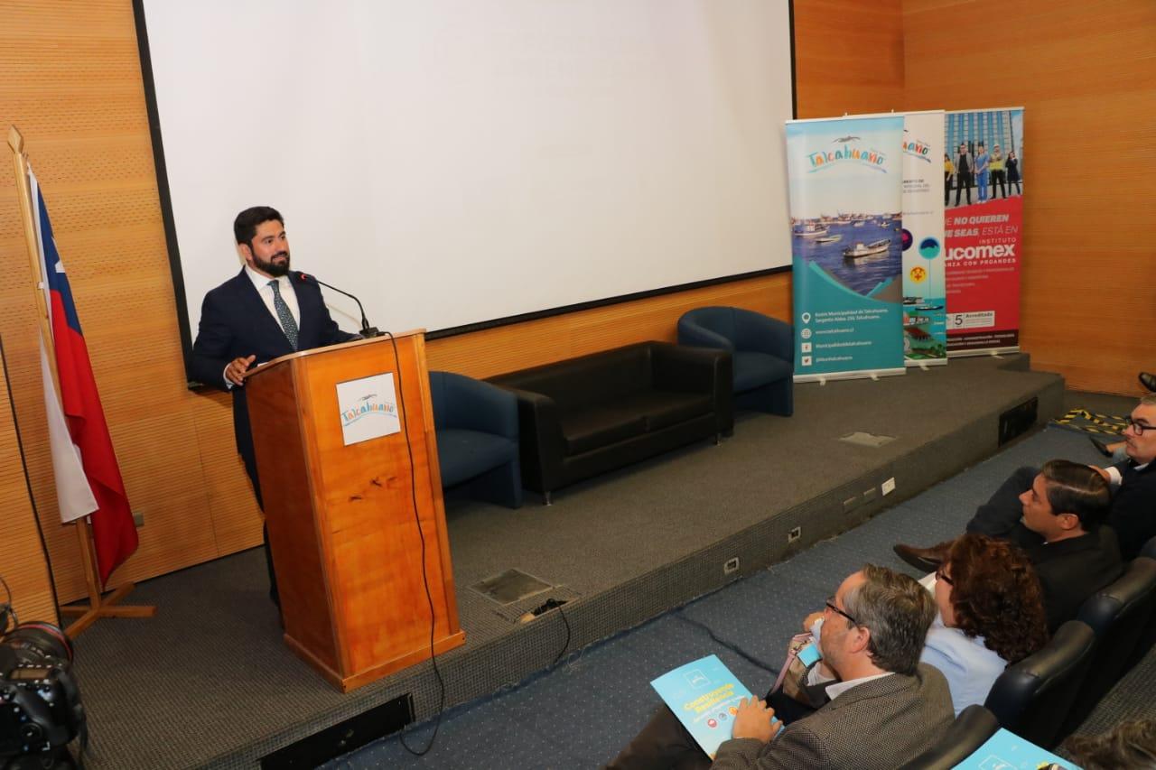 Con seminario sobre resiliencia se inicia conmemoración del 27F en Talcahuano