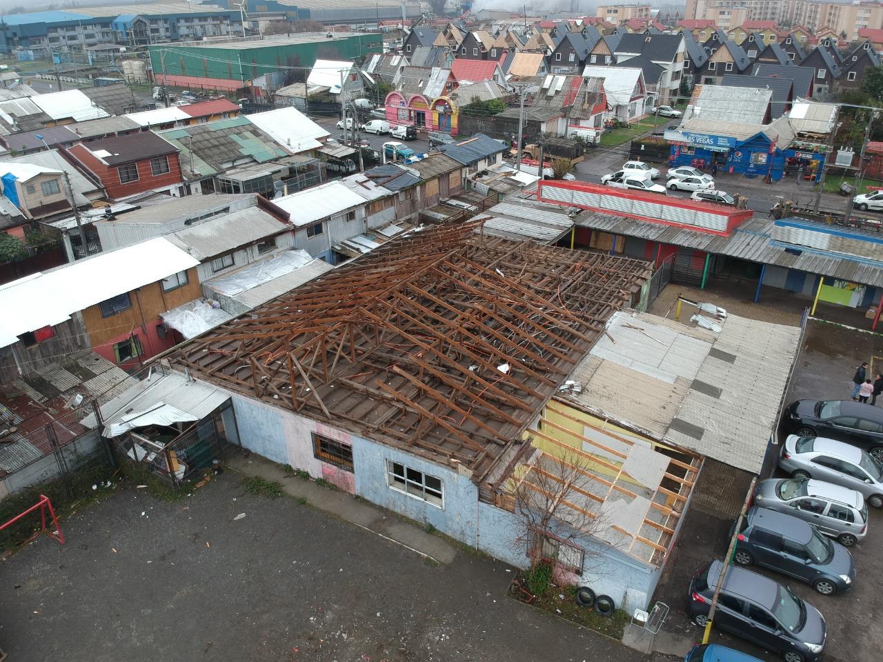 180 Alumnos de la Escuela Huertos Familiares serán reubicados en Villa Independencia: El establecimiento será reconstruido tras el paso del tornado